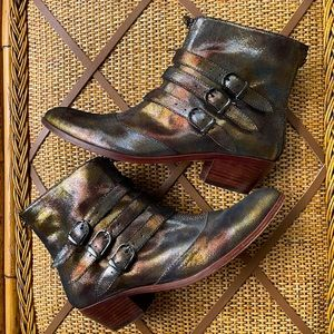 """Modern Vice """"Jasper""""Leather Ankle Boot size 9.5"""